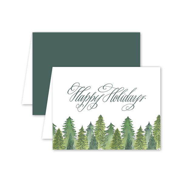 Alpine Holiday Card