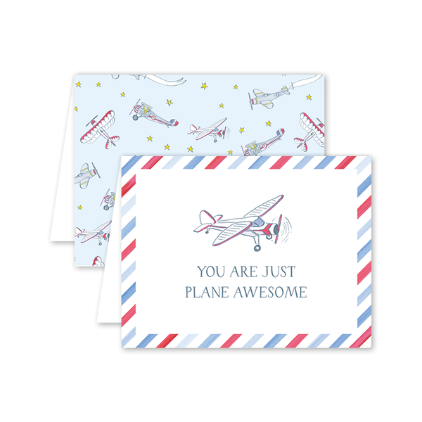 Fly In Awesome Card