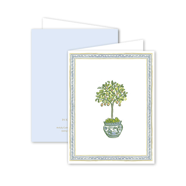Topiary Trimmings Card