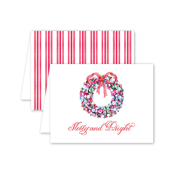 Baubles and Tinsel Card