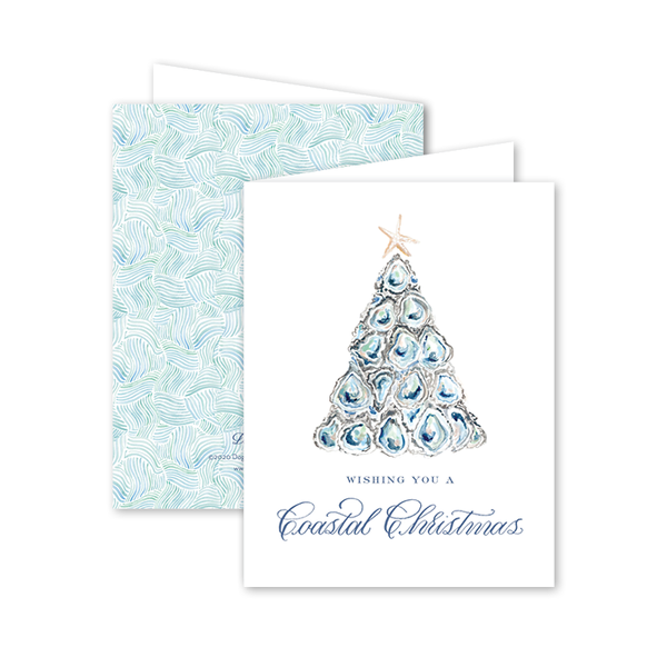 Coastal Christmas Card