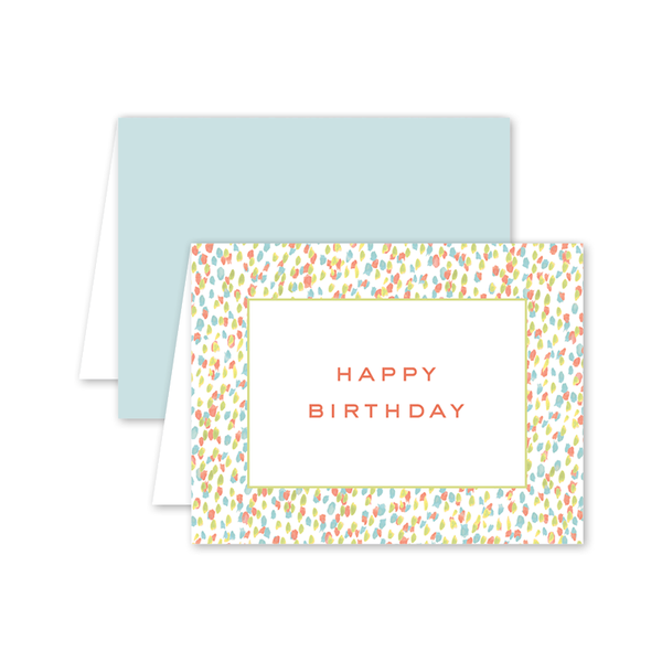 Spring Palette Birthday Card