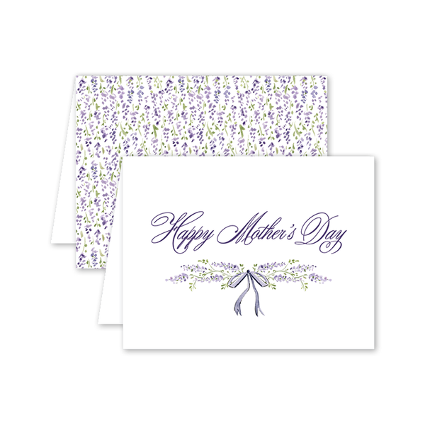 Wisteria Mother's Day Card