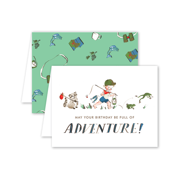 Adventure Boy Birthday Card