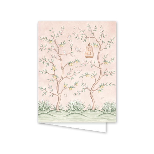Chinoiserie Garden Card