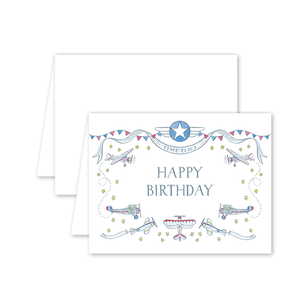 Fly In Birthday Card