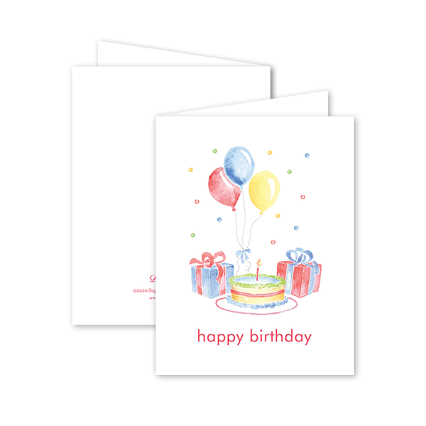 Party Confetti Birthday Card