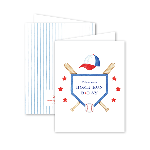 Home Run Birthday Card