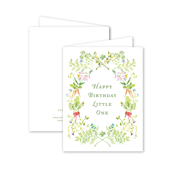 Garden Tales Birthday Card