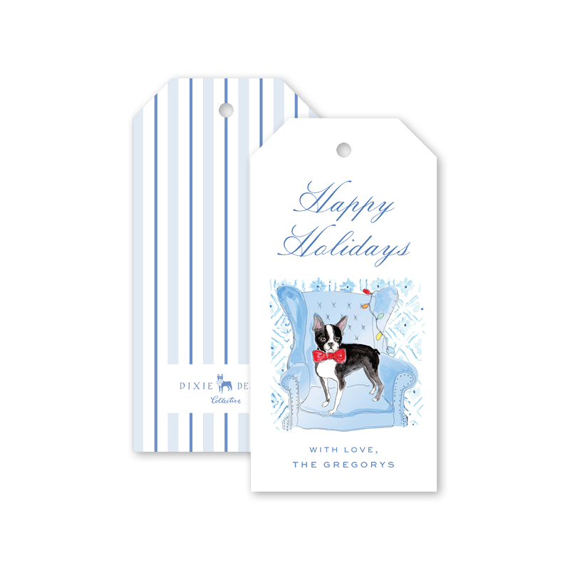 Boston Holidays Gift Tags