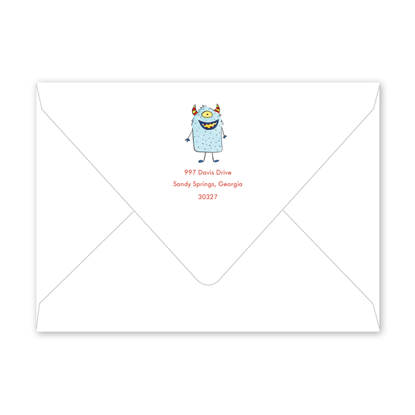 Arcade Birthday Envelopes