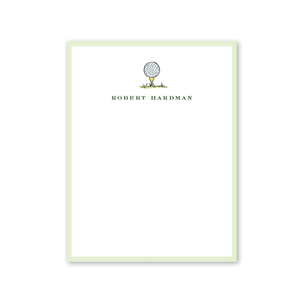 Golf Crest Notepad