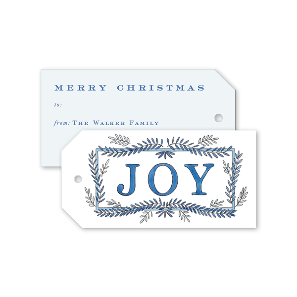 Winter Joy Gift Tags