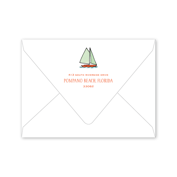 Beach Crest Birthday Envelopes