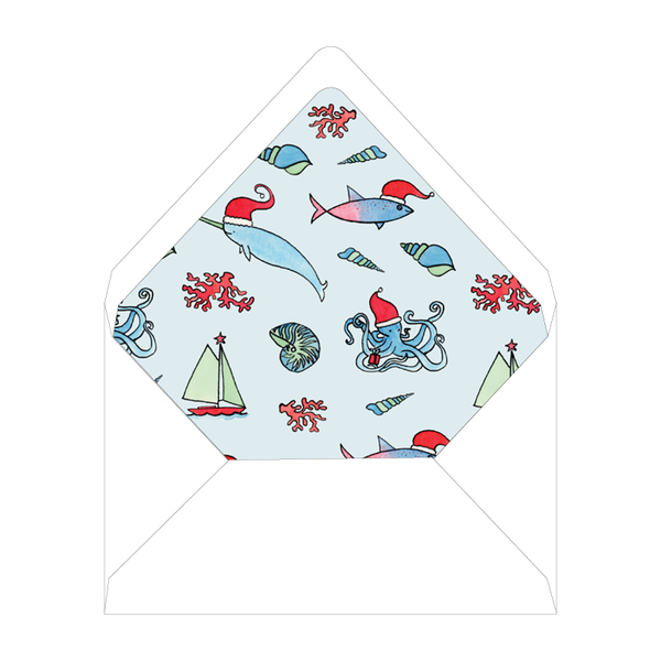 Beach Crest Holiday Landscape Liner