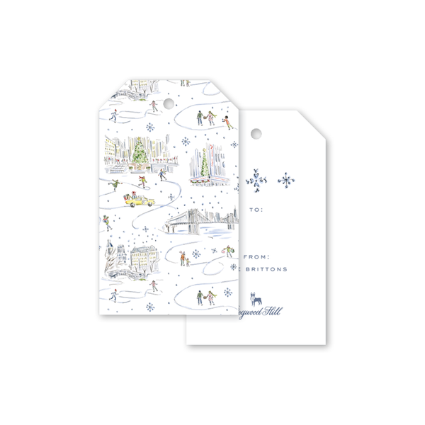 Christmas in the City Gift Tags
