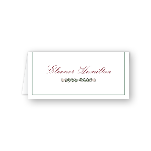 Blush Blossom Branch Place Card