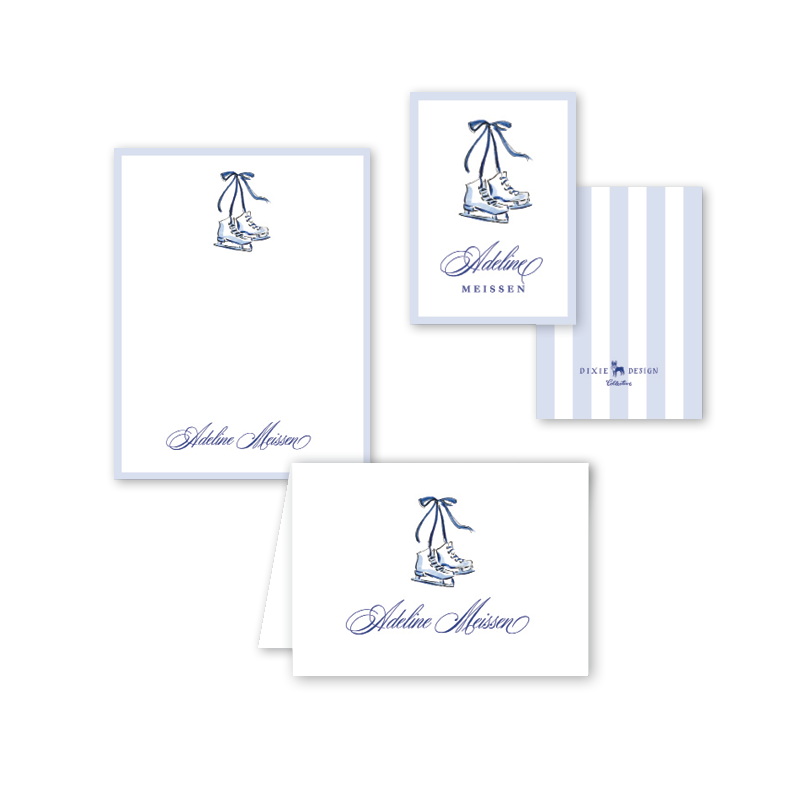 Blue Christmas Gift Set
