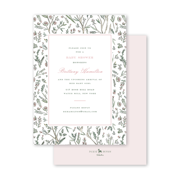 Blush Blossom Baby Shower