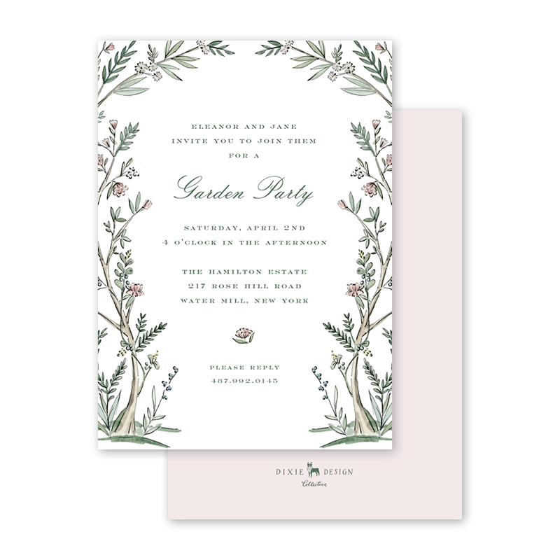 Blush Blossom Garden Party