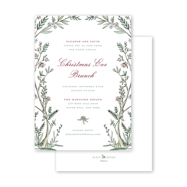 Blush Blossom Invitation