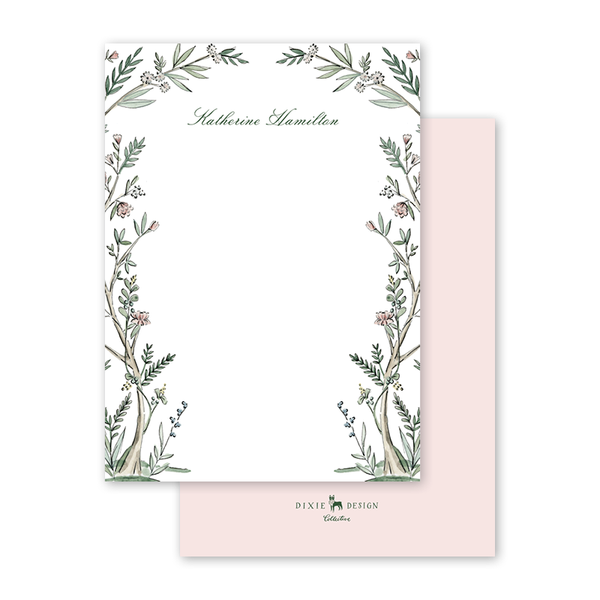Blush Blossom Notecard