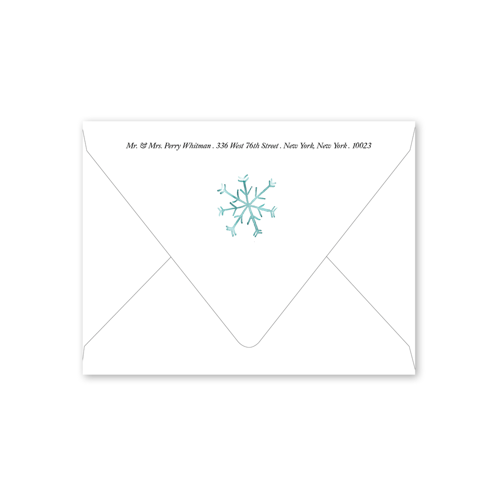 Snowflakes Envelopes