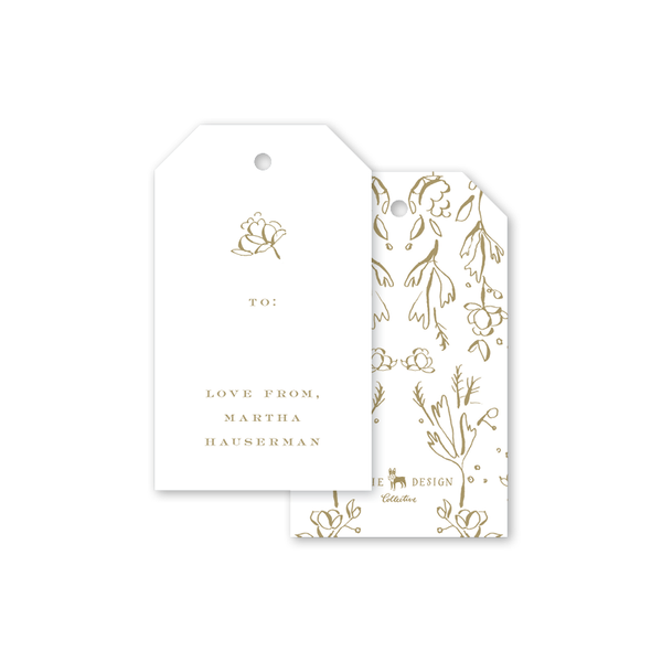 Camellias Gift Tags