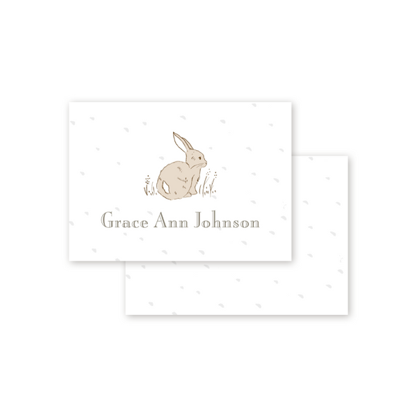 Cottontails Calling Card