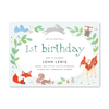 Animal Friends Blue Birthday