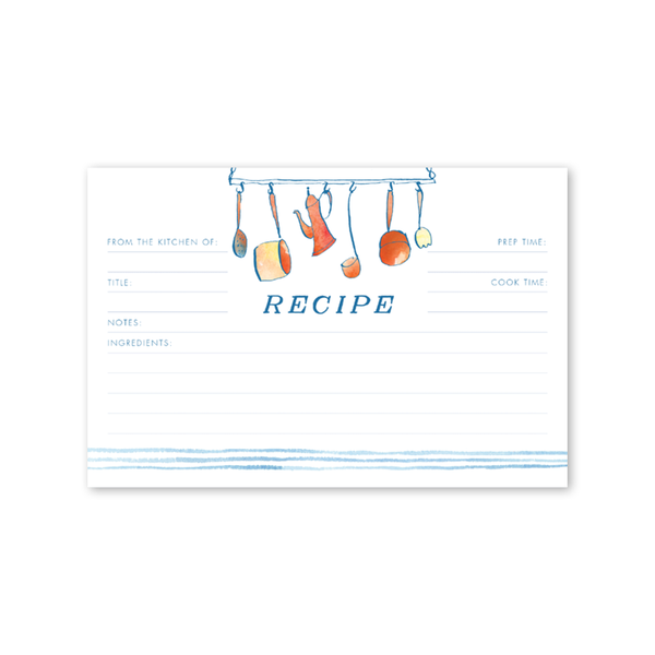 Copper Kitchen Recipe Card