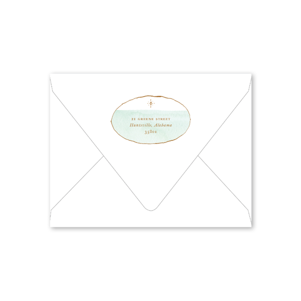 Copperplate Noel Envelopes