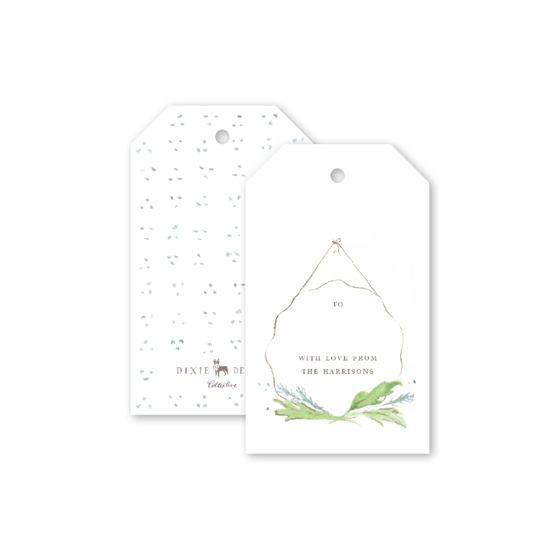Ribbon Scallop Gift Tags