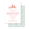 Gingerbread Sweetness Invitation
