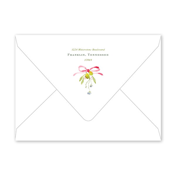 Pears and Thistle Envelopes