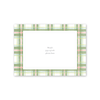 Amaryllis Plaid Landscape Photo Mount