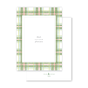 Amaryllis Plaid Photo Mount