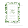 Savannah Habersham Street Border Invitation
