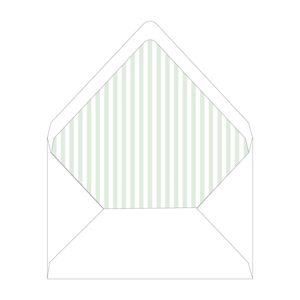 Savannah Jones Street Topiary Invitation Liner