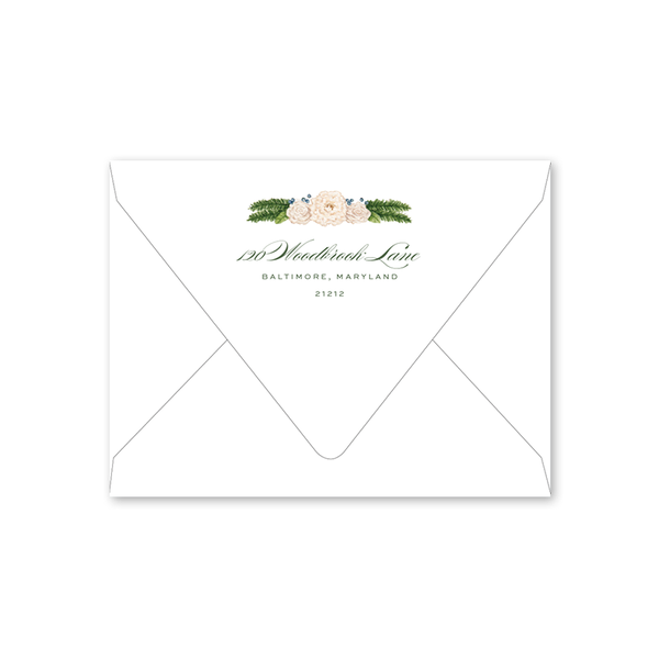 Bartlett Heraldry Green Folded Envelopes