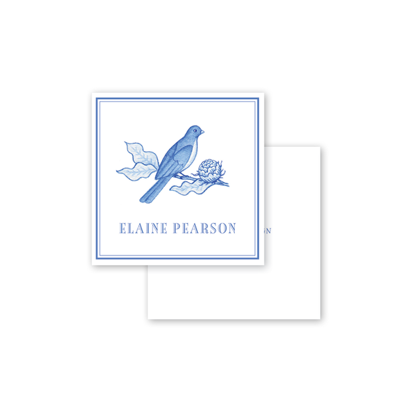 Bird Branch Blue Calling Card