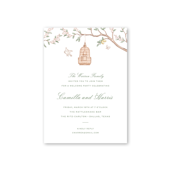 Chinoiserie Details Cards