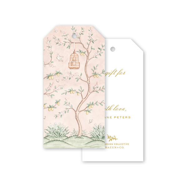 Chinoiserie Garden Gift Tags