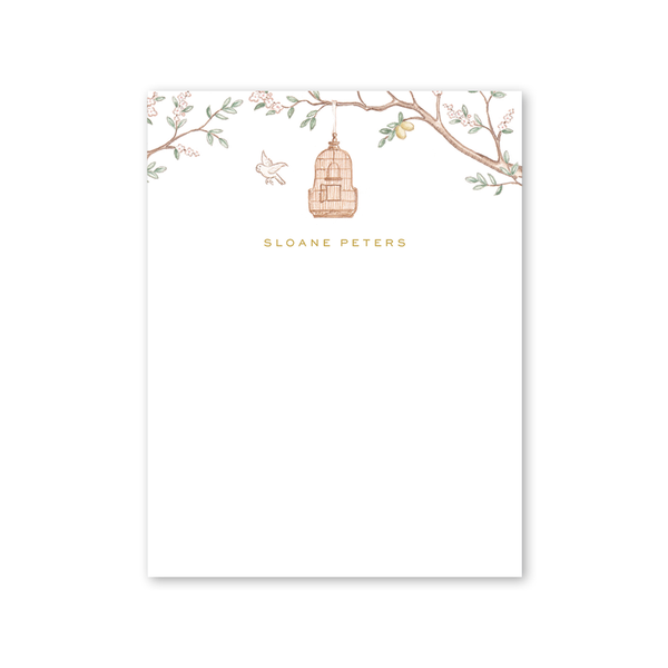 Chinoiserie Garden Notepad