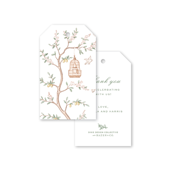 Chinoiserie Gift Tags
