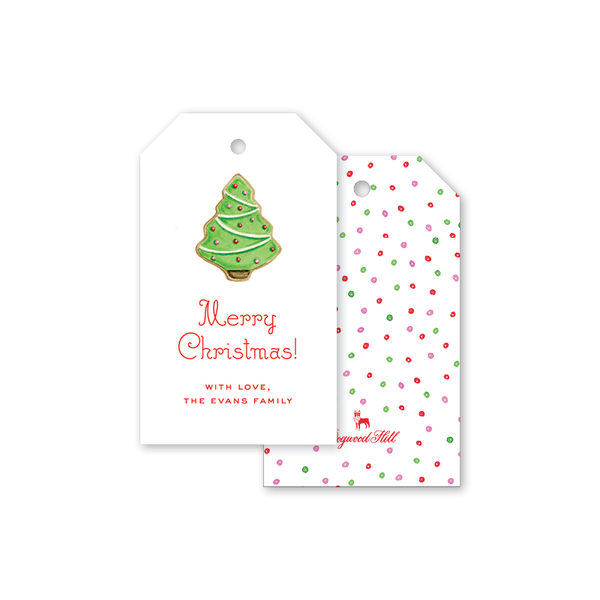 Cookies for Santa Tree Gift Tags