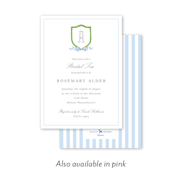 Dash Crest Bridal Tea