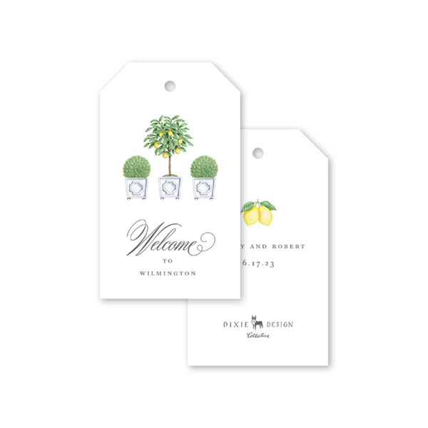 Parterre Topiary Gift Tags