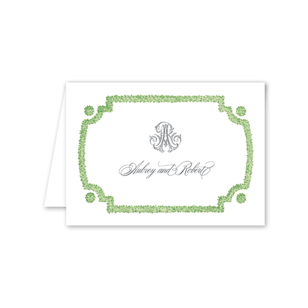 Parterre Folded Notecard