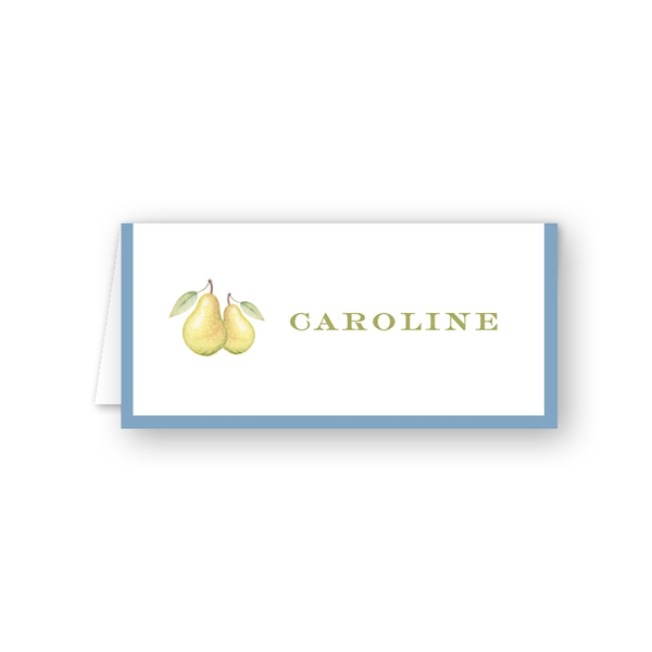 Partridge Pear Place Card